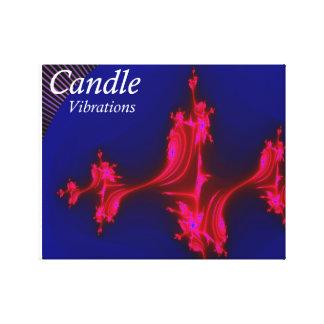 Vibrations Album Cover Wrapped Canvas