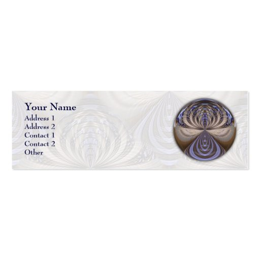 Vibrations Mandala - Profile Business Card