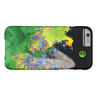 VIBRATIONS OF MATTER Green Fractal Woman Barely There iPhone 6 Case