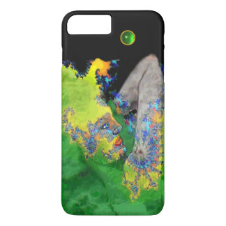 VIBRATIONS OF MATTER Green Fractal Woman iPhone 7 Plus Case