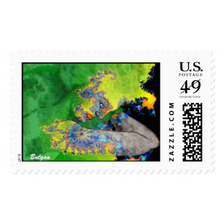 VIBRATIONS OF MATTER POSTAGE STAMP