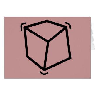 Vibrator cube card