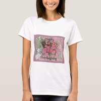 Viburnum Fall Foliage Happy Thanksgiving Items T-Shirt