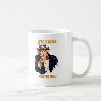 Vic Falls Wants You Coffee Mug