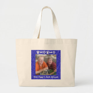 Vic, Jan and Elvis Large Tote Bag