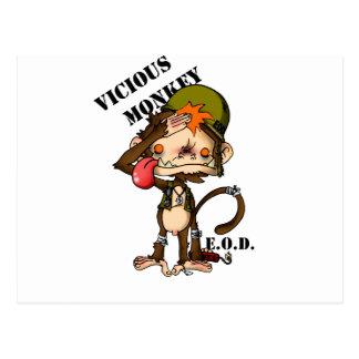 Vic Monk EOD Special Edition copy Postcard
