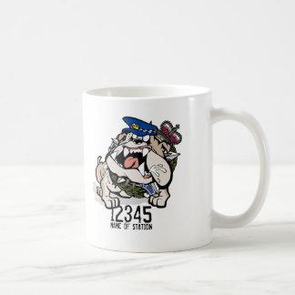 VIC Police Angry Dog Coffee Mug