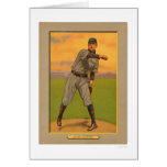 Vic Willis piratea el béisbol 1911 de los cardenal Tarjeton