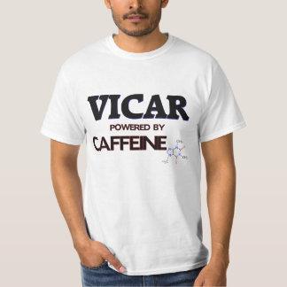 Vicar Powered by caffeine T Shirt