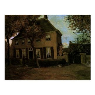 Vicaría en la bella arte de Nuenen (F182) Van Gogh Tarjetas Postales
