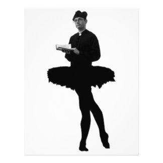 Vicario del ballet membretes personalizados