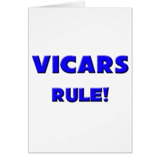 Vicars Rule! Card