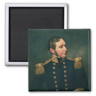 Vice Admiral Robert Fitzroy 2 Inch Square Magnet