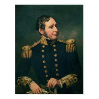 Vice Admiral Robert Fitzroy Postcard
