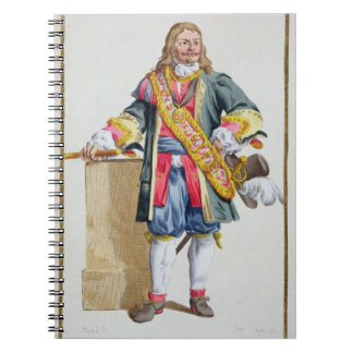 Vice Admiral Ruyter (1607-76) from 'Receuil des Es Spiral Notebook