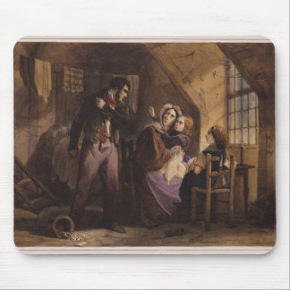 Vice and Virtue: Misery Mouse Pad
