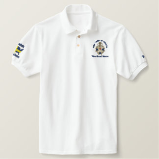 Vice Grand Master, Customize it for your lodge. Embroidered Shirt