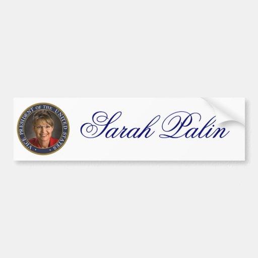 Vice President Sarah Palin Bumper Sticker