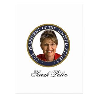 Vice President Sarah Palin Postcard