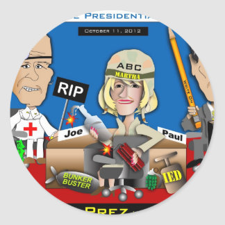Vice Presidential Debate Stickers