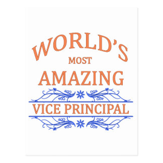 Vice Principal Postcard