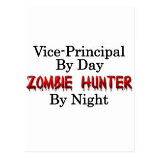 Vice-Principal/Zombie Hunter Postcard