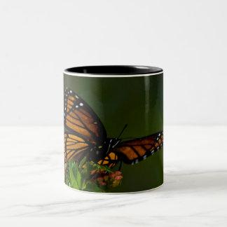 Vice Roy Butterfly Two-Tone Coffee Mug