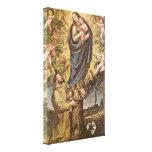 Vicente Carducci - Vision de St Francis Impresion En Lona