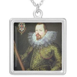 Vicente Gonzaga, duque de Mantua, 1600 Colgante Cuadrado