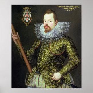 Vicente Gonzaga, duque de Mantua, 1600 Impresiones