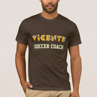 Vicente in Soccer Gold T-Shirt