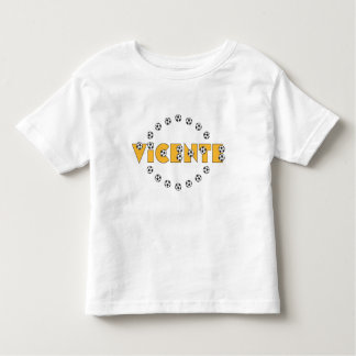 Vicente in Soccer Gold Tshirts