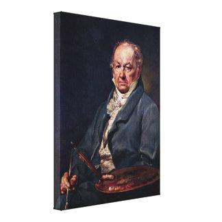 Vicente López y Portana - Francisco de Goya Lienzo Envuelto Para Galerias