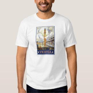 VICENZA Clock Tower Italy T-Shirt