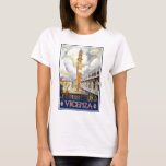 VICENZA Clock Tower Italy T-Shirt