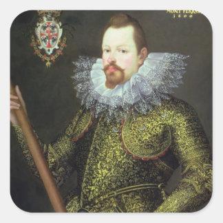 Vicenzo Gonzaga Duke of Mantua 1600 Sticker