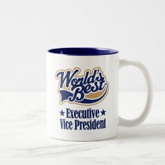Vicepresidente ejecutivo regalo taza de dos tonos