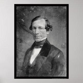 Vicepresidente Guillermo R. rey Daguerreotype 1848 Posters