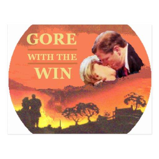 Vicepresidente Postcard de Al Gore Postal