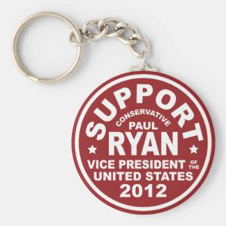 Vicepresidente Seal de Paul Ryan de la ayuda Llavero Redondo Tipo Pin