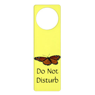 Viceroy Butterfly Beautiful Nature Photography Door Hanger