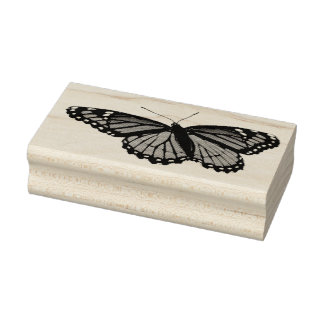Viceroy Butterfly Beautiful Nature Photography Rubber Stamp