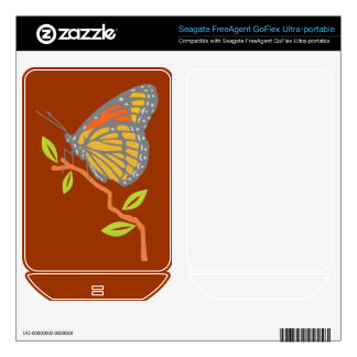Viceroy Butterfly FreeAgent GoFlex Decal