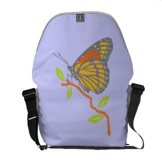 Viceroy Butterfly Messenger Bags