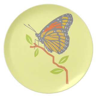 Viceroy Butterfly Plates