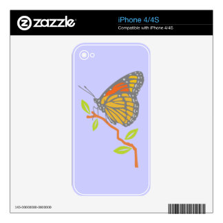Viceroy Butterfly Skin For The iPhone 4S