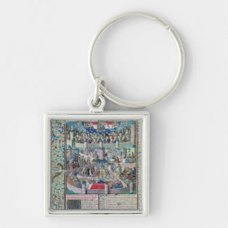 Vices and Virtues on Earth Keychain
