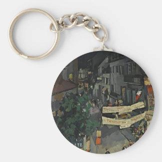 Vichy at Night by Konstantin Korovin Key Chains