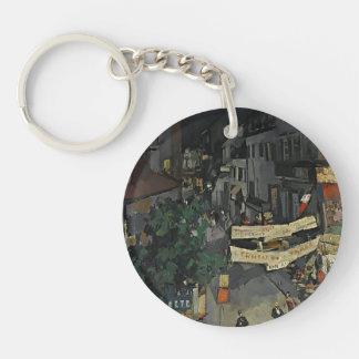 Vichy at Night by Konstantin Korovin Acrylic Keychain