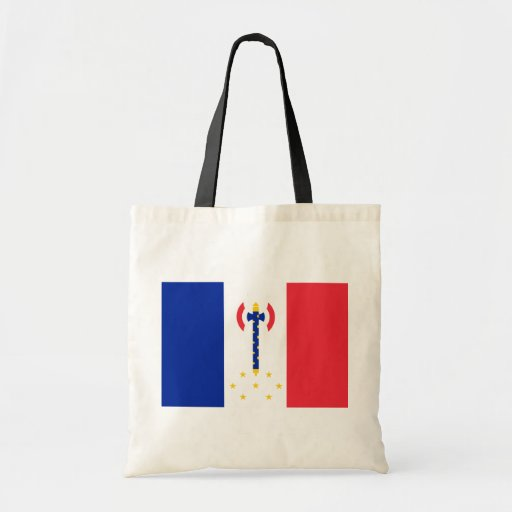 Vichy, bandera de Francia Bolsa Tela Barata